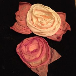 Vintage Rose Brooches